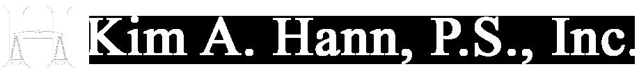 Kim A. Hann, P.S., Inc. - Law Firm